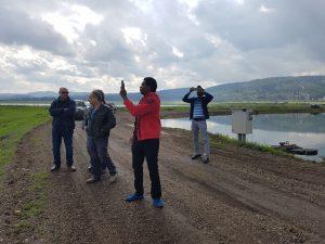 ביקור משלחת בכירה מהאיטי שיתוף פעולה עתידי בתחומי חקלאות מים ומאגרים