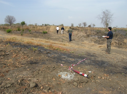 שטח קימינה באנגולה סיור הכרות ראשון