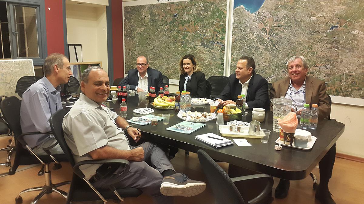 ביקור שר ההשקעות ממקדוניה