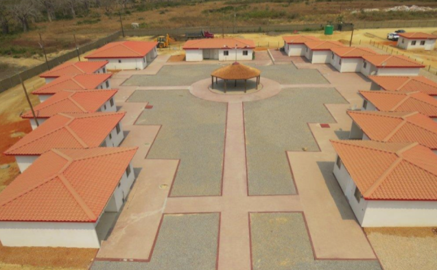 Community center under construction finalized