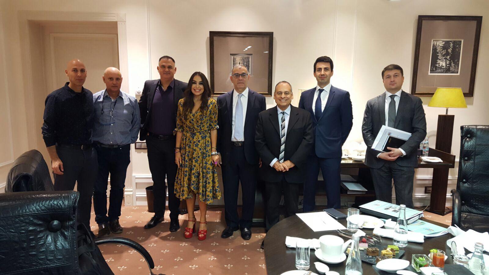 פגישת תיאום עם ממשלת אזרבייג'ן