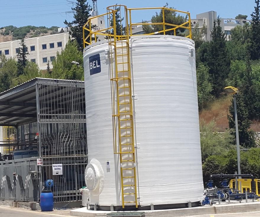 Wastewater balance tank